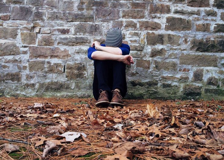 #adult #alone #autumn #brick #depressed #depression #dried leaves #emotion #fall #frustration #hiding #lifestyle #loneliness #lonely #outdoors #park #person #portrait #problem #sad #sadness #sorrow #stone #street #stress