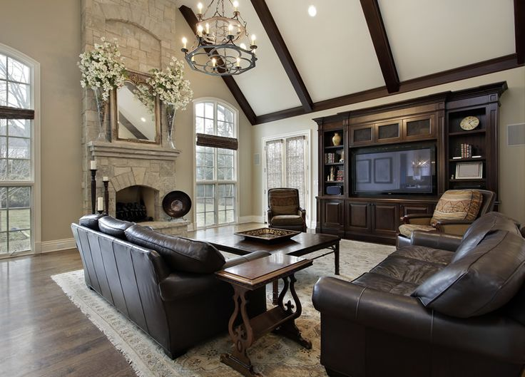 121 best Family room images on Pinterest | Home, Vaulted ceilings ...