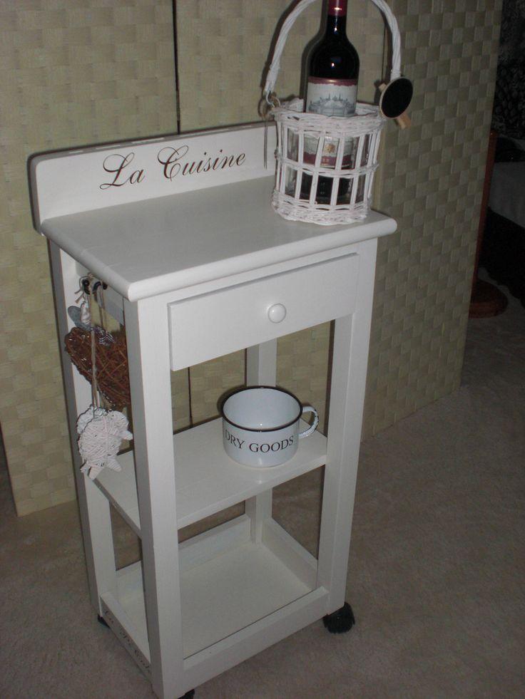 La PéCule, KeukenTrolley... Deze is met evenveel enthousiaste liefde gecreëerd als ontvangen. Heeft een bijzonder verhaal, zoals zoveel items & klantjes bij La PéCule <3 www.lapecule.nl