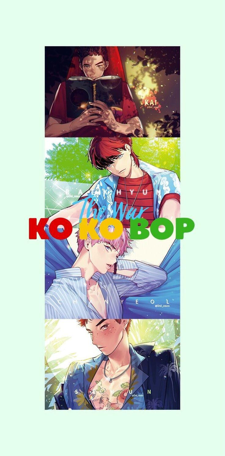 #FANART #KOKOBOP #THE WAR #EXO