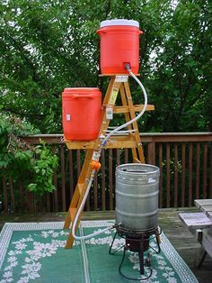 Brewing Setup on Pinterest   Home Brewery, Home Brewing and Brewing