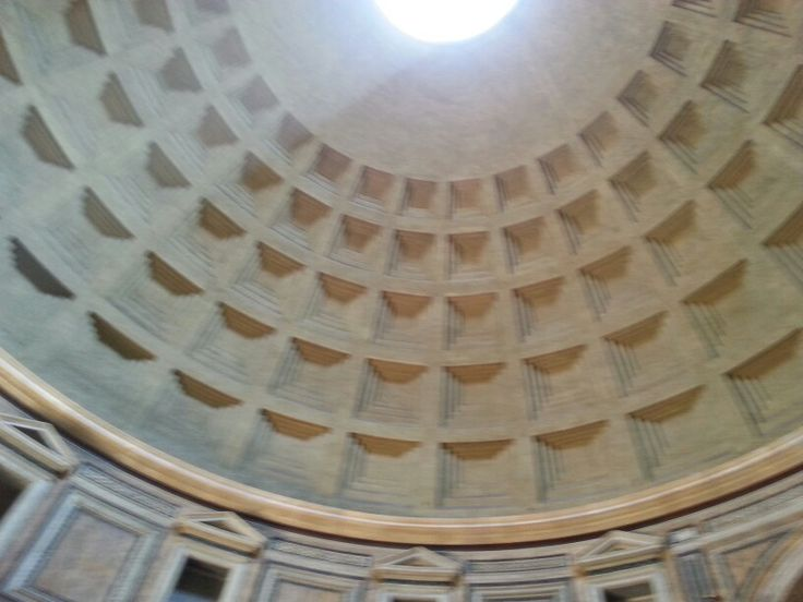 What a dome! Brilliant architecture from 1st century.