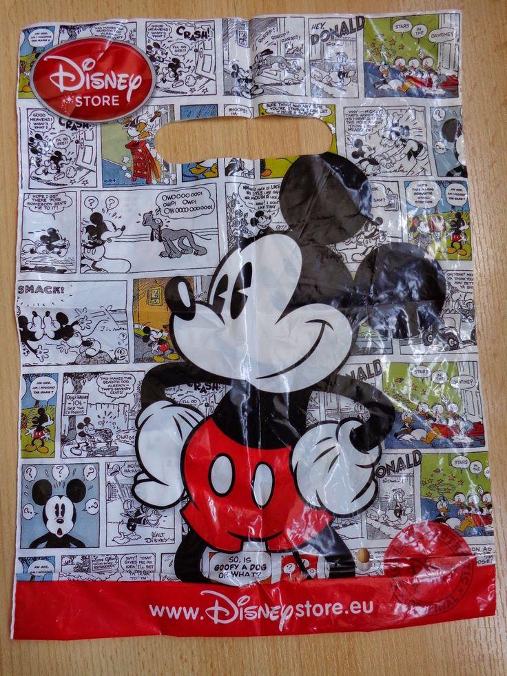 MDC: Disney Store bag, small