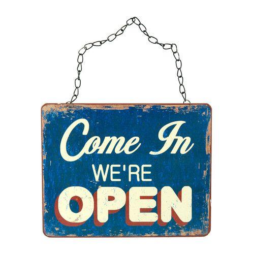 Cartel open/closed | Maisons du Monde