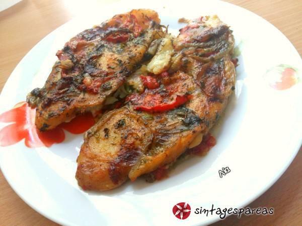 Παγκάσιους φιλέτο στο φούρνο #sintagespareas #psari #fournou