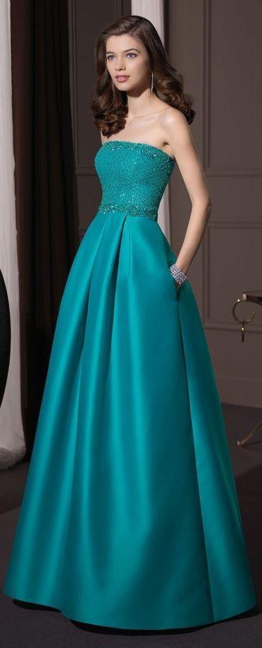Vestidos para bodas de noche más deslumbrantes - ejemplos                                                                                                                                                     Más