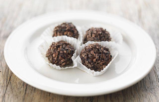 Brigadieros da Escocia (chocolate truffles)