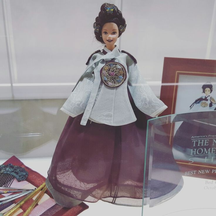 Barbie in Hanbok, Korean dress♡