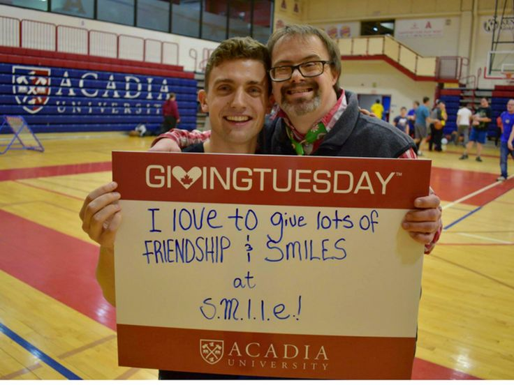 """#ICYMI2017 The #AcadiaU community deserves a great big """"Thank You"""" this Thank You Thursday for all we did on #GivingTuesdayCa! Learn more http://qoo.ly/kbez7 #AcadiaUGives"""