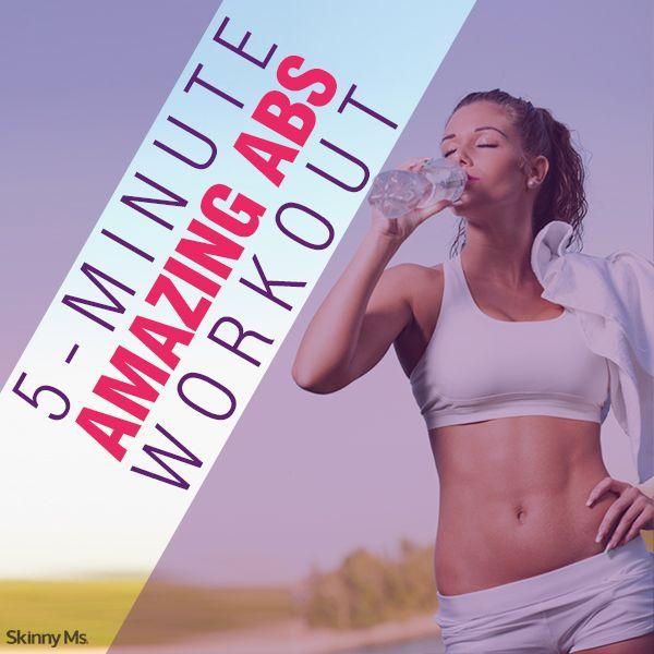 5-Minute Amazing Abs Workout #amazingabs #workout #fitness