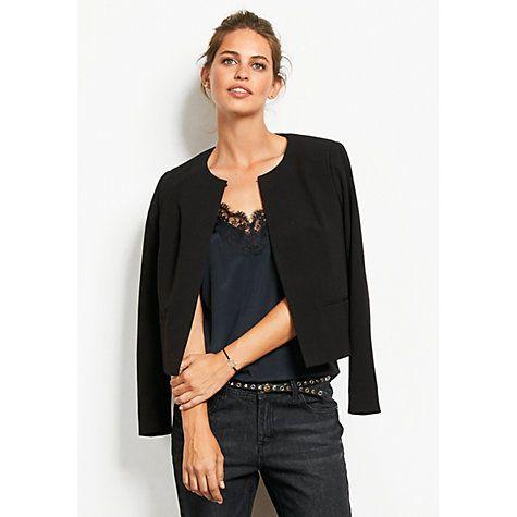 Buy hush Edie Jacket, Black Online at johnlewis.com