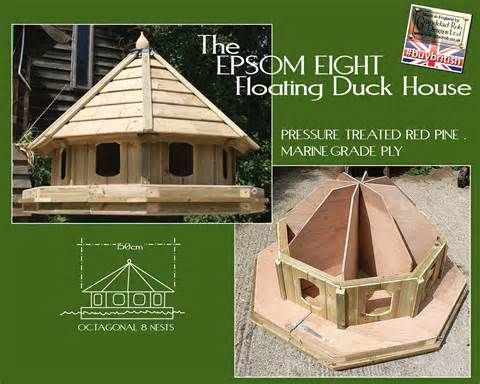 how to build a floating #duck #house. see instructions here: http