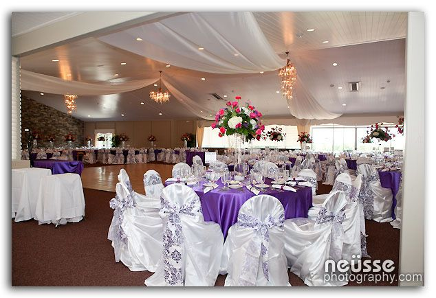 Wedding Banquet Hall At Woodstone Country Club In