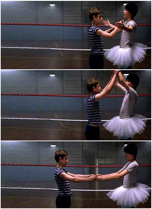 Billy Elliot (2000, Stephen Daldry) i love this bit of the film and both of these characters