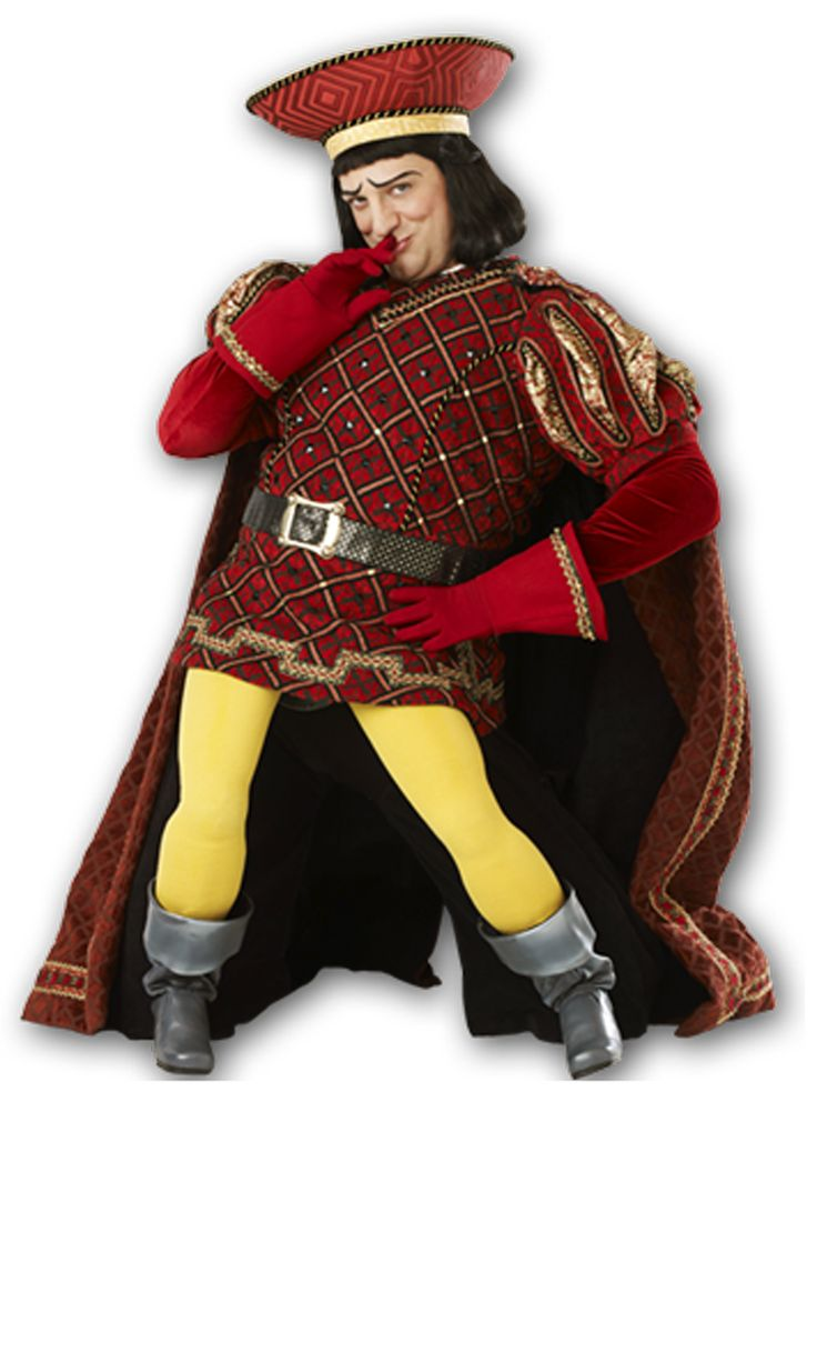 costume starting point. {lord farquaad} - fake legs unnecessary if casting short…