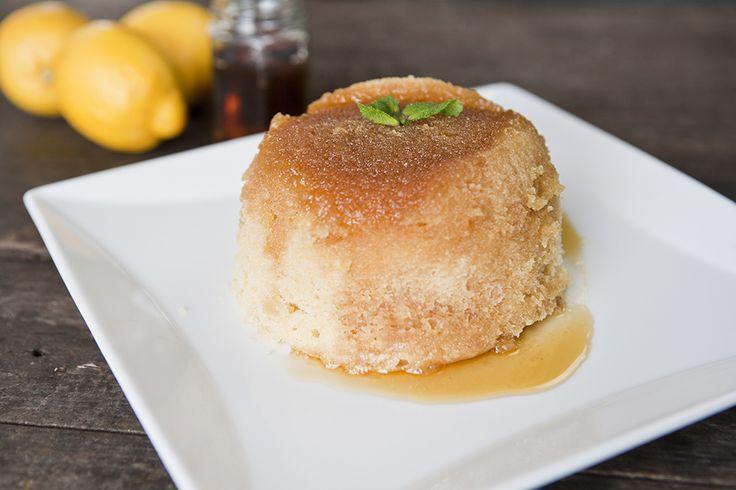 Kenwood's Microwave 'Steamed' Lemon Maple Sponge