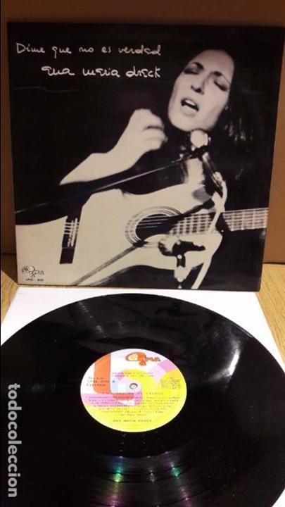 ANA MARIA DRACK. DIME QUE NO ES VERDAD. LP-GATEFOLD / GMA-1973 / MBC. ***/***