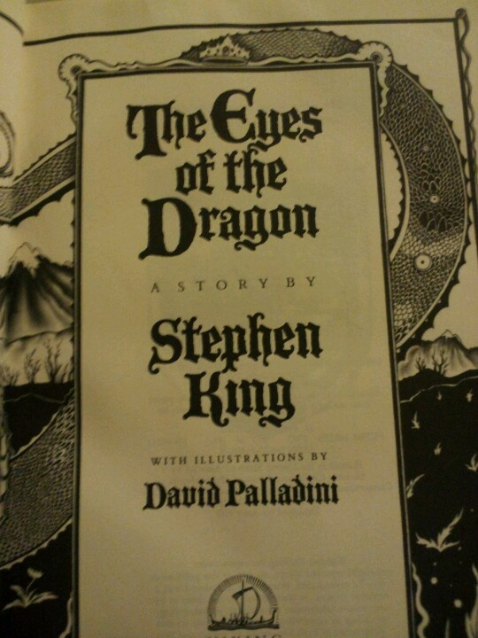 The Eyes of the Dragon by Stephen King. OK - I'm no big fan of Stephen King... No fan at all really... But this book is awesome!!! It should be read aloud :)