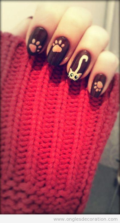 Décoration D'ongles | Nail Art | Dessin sur ongles | Pas à pas - Part 11 | Dessins sur les ongles
