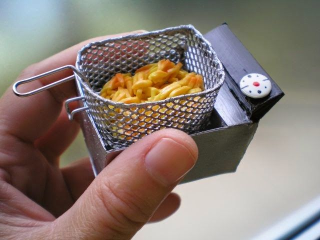 how to: miniature deep fryer