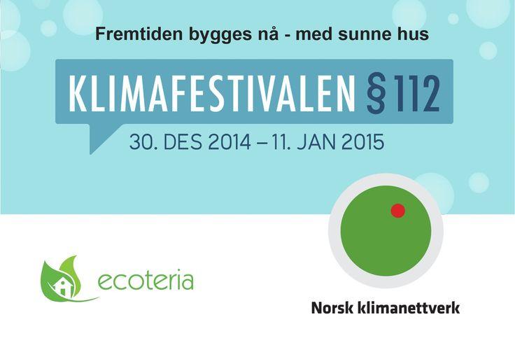 Konferansefilm Klimafestivalen§112 fremtiden bygges nå - med sunne hus p...