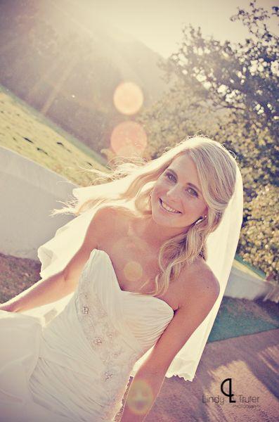 Caitlyn de Beer on her wedding day