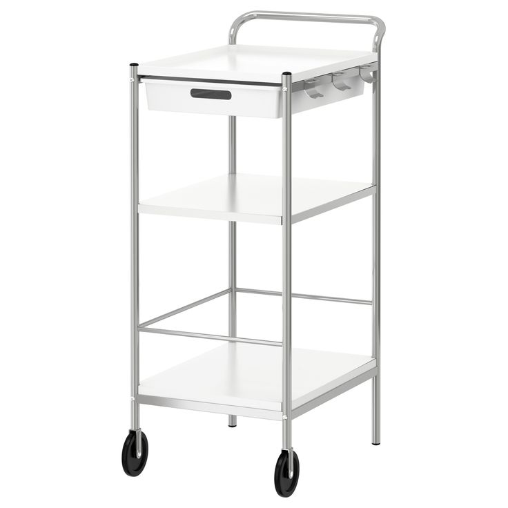 Another option for craft room - possible for my printer/paper/supplies etc? BYGEL Utility cart - IKEA