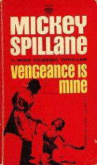 Signet Books D2116 - Mickey Spillane - Vengeance is Mine