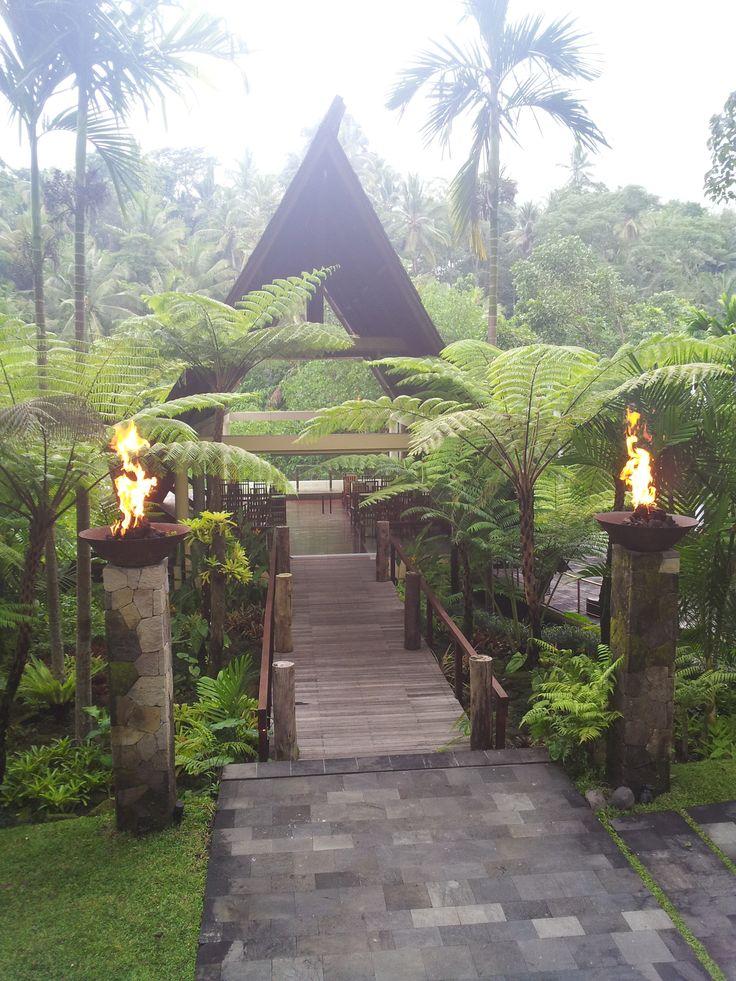 Wanasmara wedding chapel KOmaneka at Bisma Ubud - Bali, Indonesia