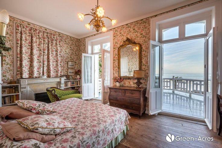 Hendaye, Facing The Sea, Beautiful House Built In 1910