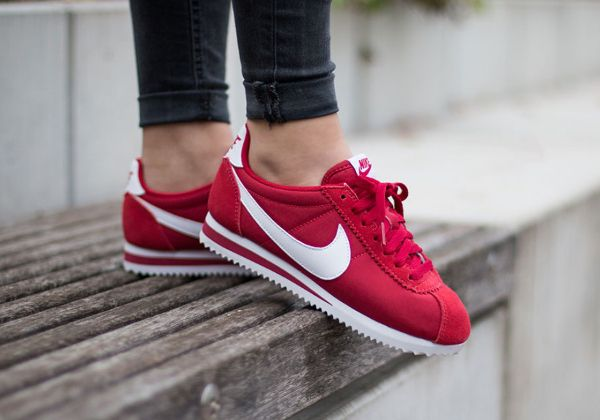 nike cortez homme rouge