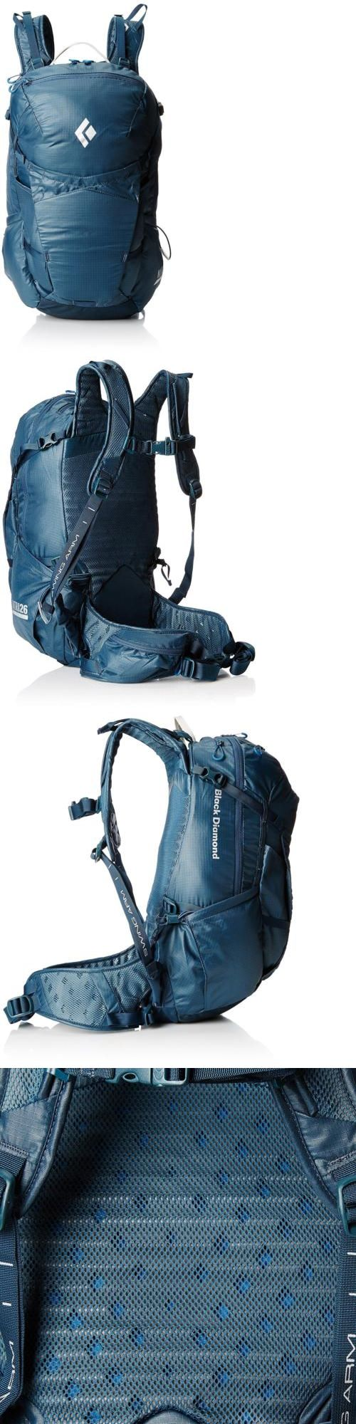 Other Camping Hiking Backpacks 36109: Black Diamond Nitro 26 Backpack Moroccan Blue Small Medium -> BUY IT NOW ONLY: $200.95 on eBay!