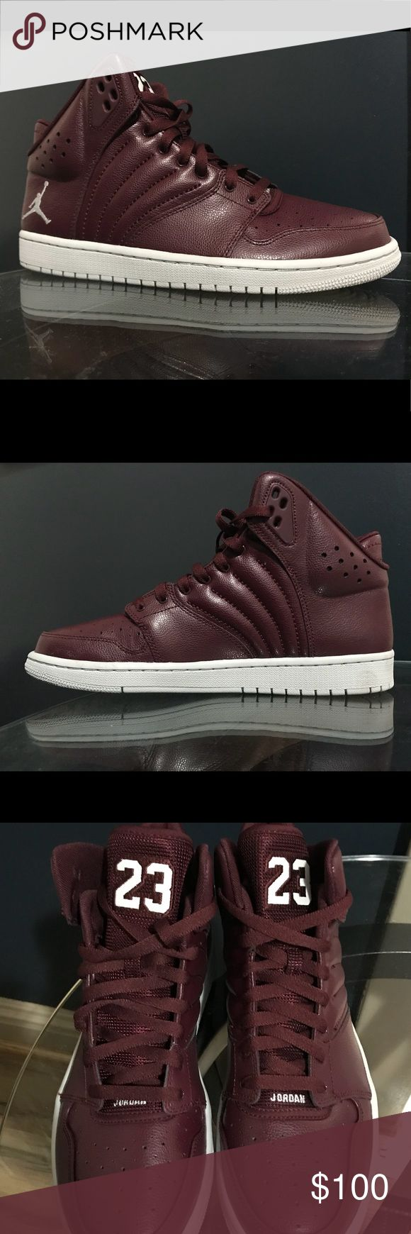 NIB Jordan 1 Flight 4 Night Maroon Pure Platinum Jordan 1 Flight 4 in Night Maroon and Pure Platinum New in box  820135 600 Men's size 10.5 & 8 Nike Shoes Sneakers