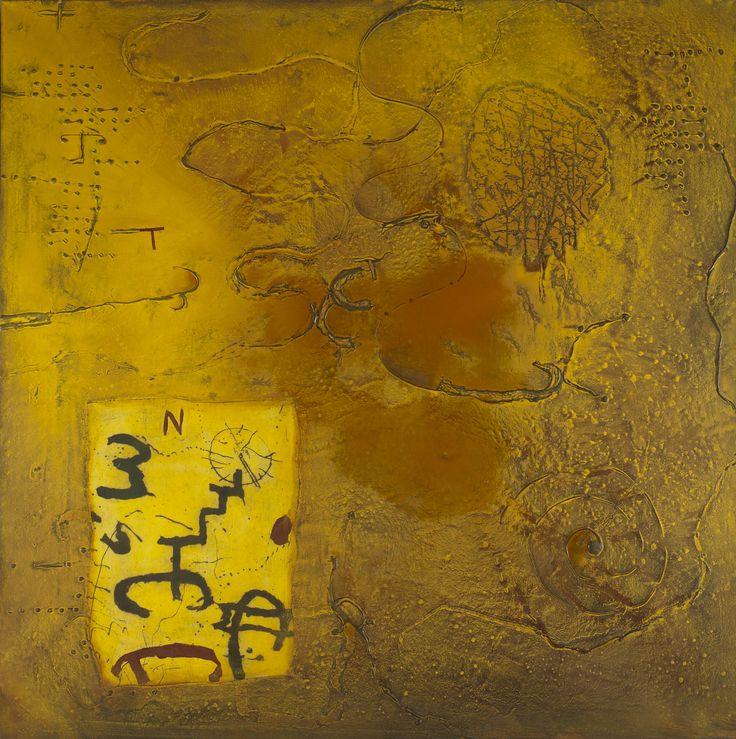 Richard Texier (né en 1955) : La Stratégie Des Courants, 2002 - technique mixte sur toile