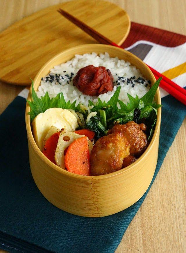 Teriyaki Chicken Bento 鶏の照り焼き弁当
