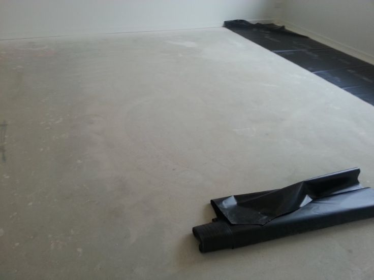 Moisture is the enemy! A moisture barrier will minimise any moisture damage