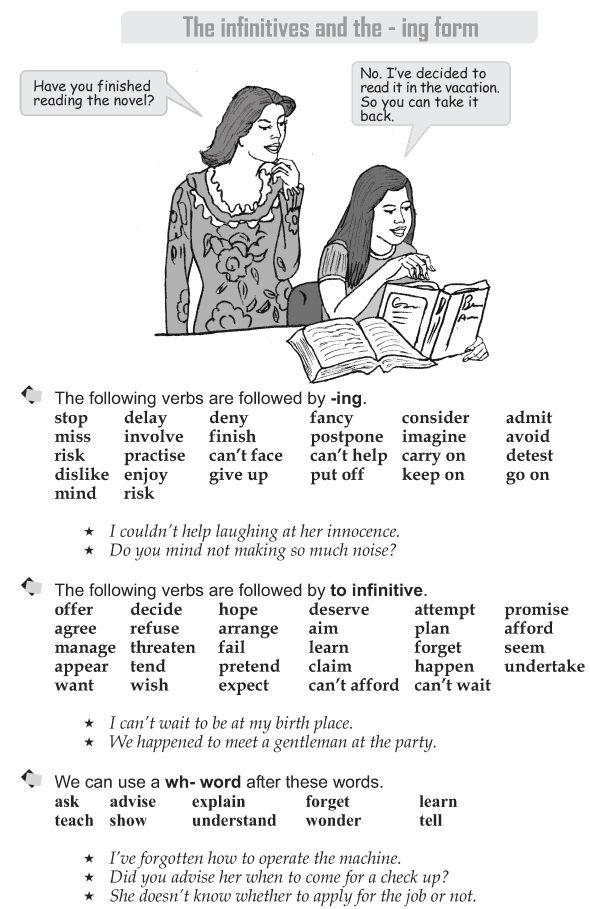 89 best grade 9 grammar lessons 1 45 images on pinterest grammar grade 9 grammar lesson 45 the infinitives and the ing form fandeluxe Images