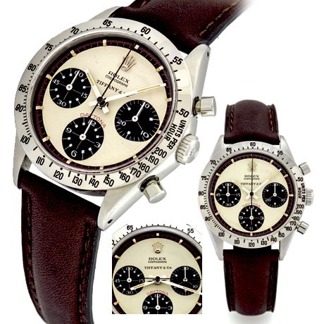 Rolex Ref. 6239 Paul Newman retailed by Tiffany & Co.