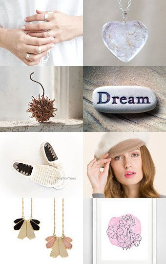 ~ January finds ~ 2016 trends ~ Dreams ~ by Anna Bujak on Etsy--Pinned with TreasuryPin.com