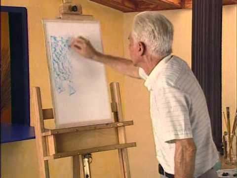 Curso practico de dibujo y pintura - tecnicas varias - ceras aguarrasadas.
