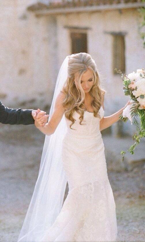 Bridal Hair Combwedding Hair Combbridal Hair Clip Bridal Etsy In 2020 Wedding Hairstyles Half Up Half Down Best Wedding Hairstyles Wedding Hairstyles With Veil