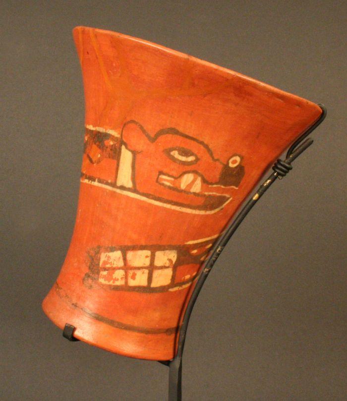 Kero Vaso Museo Chileno De Arte Precolombino Museo Chileno De