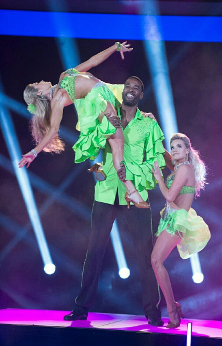 Calvin, Lindsay, and Witney DWTS Semifinals