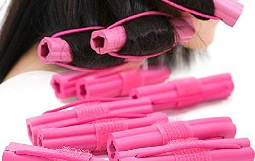 EQLEF® Rouleau 6Pcs Magic Hair Curler Fashion Sponge styler cheveux bricolage personnel Sommeil Mousse Curlers Outil: Matériel: Sponge…