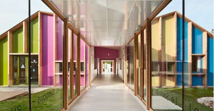 Image 2 of 20 from gallery of Epinay Nursery School / BP Architectures. Courtesy of  bp architectures