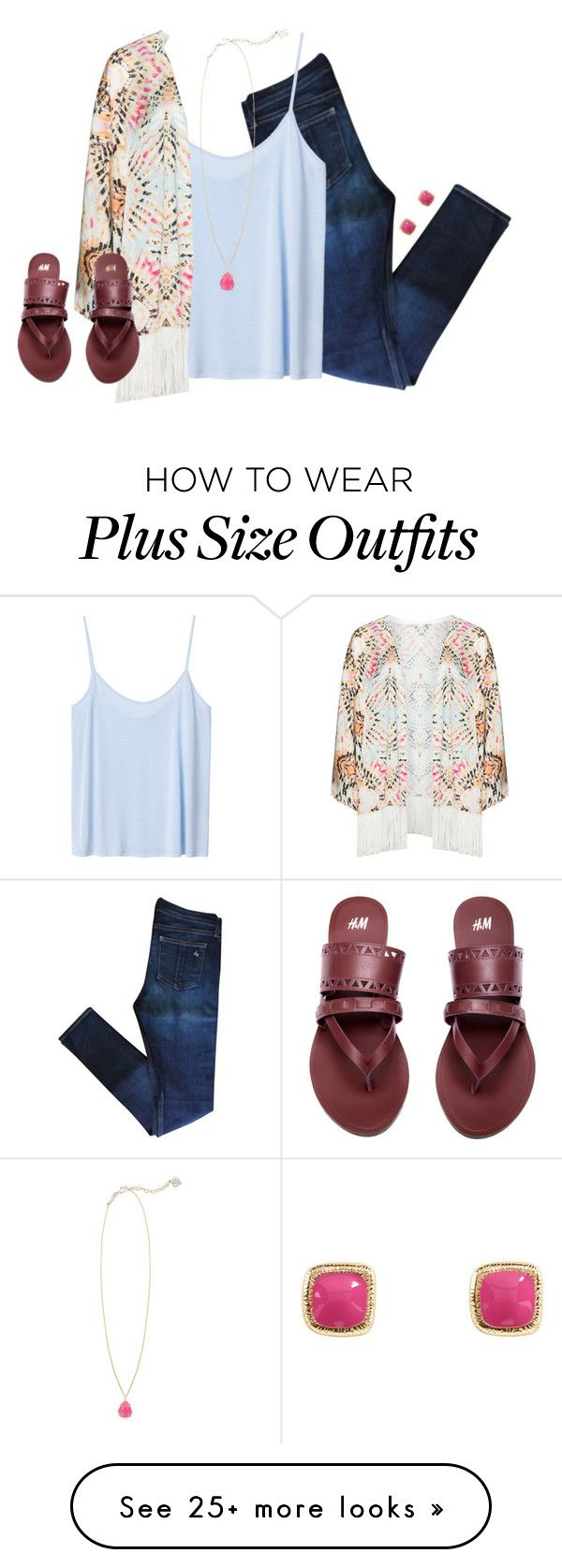 """""""it's okay to be scared, but you have to get out there, open up, love, make mistakes, learn, be stronger, and start all over again.❥"""" by kaley-ii on Polyvore featuring rag & bone, Monki, Mat, Kendra Scott, H&M and Vera Bradley"""