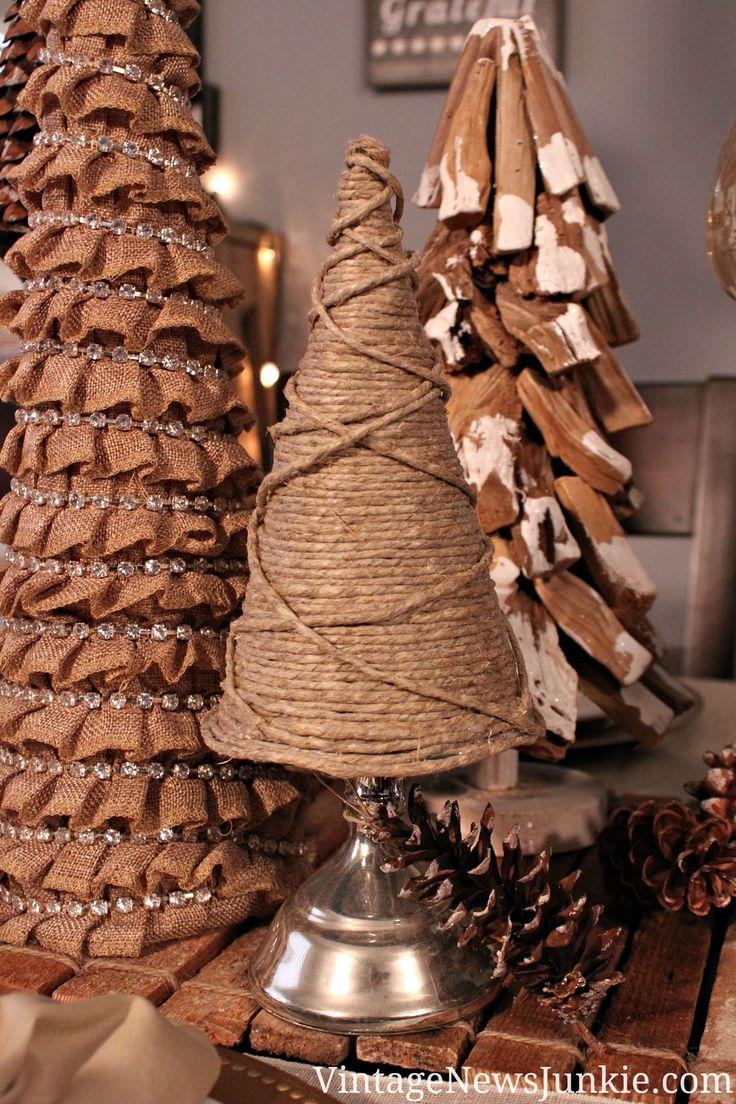 DIY Twine Christmas Tree {Easy Tutorial} #12DaysofTrees