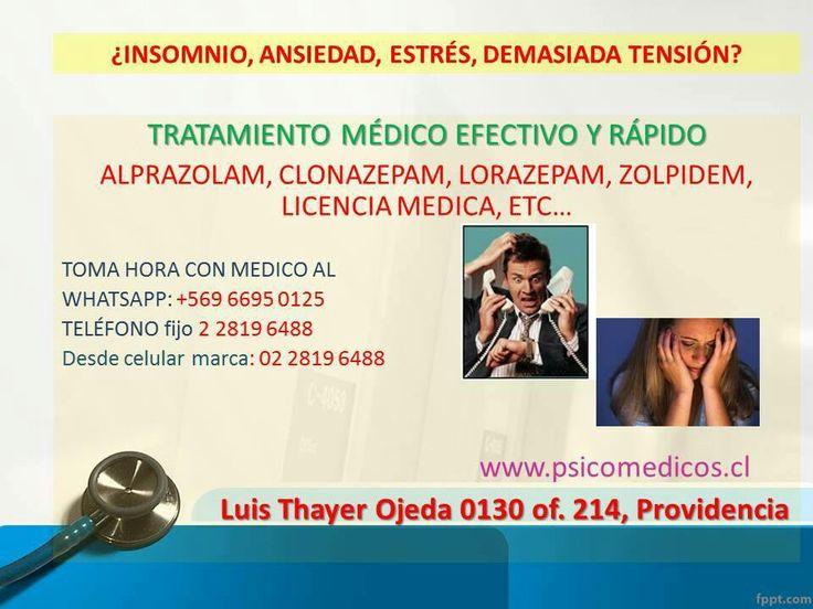 No te estreses nuestros médicos te ayudan www.psicomedicos.cl