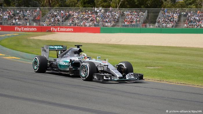 2015 Formula One season from Melbourne, Australia, as Lewis Hamilton ...