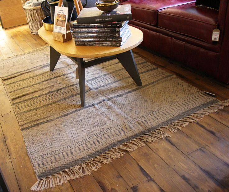 FLOOR RUGS MADE FROM 100% RECYCLED BOTTLES!